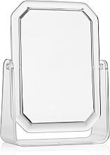 Profumi e cosmetici Specchio cosmetico rettangolare bifacciale, 19,5x14,5 cm - Titania