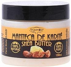 Profumi e cosmetici Burro di karitè per viso, corpo e capelli - Arganour Shea Butter Face, Body & Hair