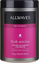 Profumi e cosmetici Polvere schiarente - Allwaves Flash Maches Bleaching Colouring Powder