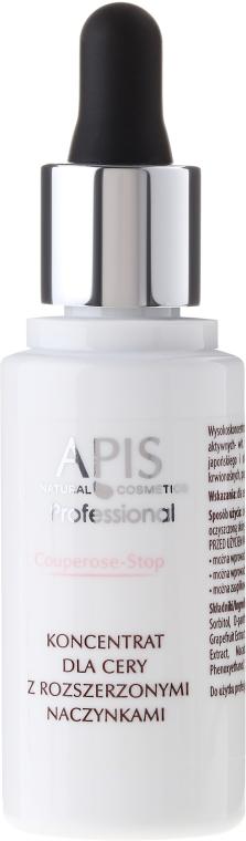 Concentrato per la pelle con problemi capillari - APIS Professional Couperose-Stop Concentrate