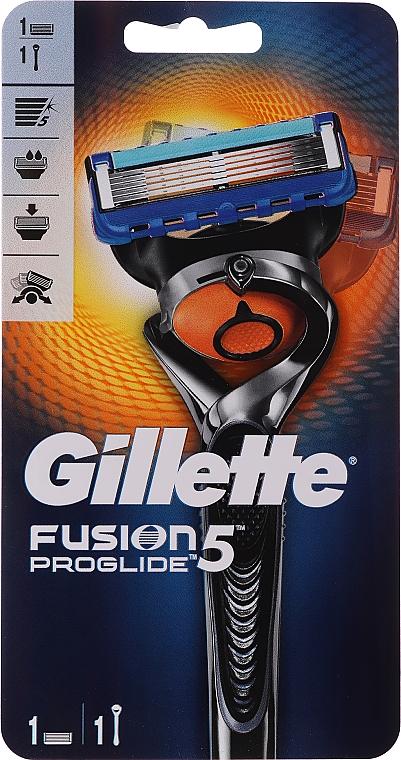 Rasoio con 1 lametta ricambio - Gillette Fusion ProGlide Flexball