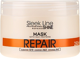 Profumi e cosmetici Maschera per capelli - Stapiz Sleek Line Repair Hair Mask