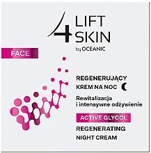 Profumi e cosmetici Crema viso rigenerante, da notte - Lift4Skin Active Glycol Regenerating Night Cream