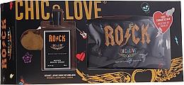 Profumi e cosmetici Chic&Love Rock - Set (edt/100ml + bag)