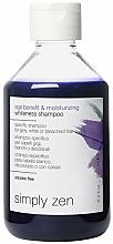 Profumi e cosmetici Shampoo per capelli grigi - Z. One Concept Simply Zen Age Benefit & Moisturizing Whiteness Shampoo