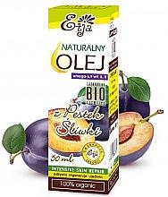 Profumi e cosmetici Olio di semi di prugna naturale - Etja Natural Plum Seed Oil