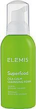 Profumi e cosmetici Detergente viso in schiuma con estratto di centella asiatica - Elemis Superfood CICA Calm Cleansing Foam
