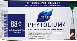 Profumi e cosmetici Fiale contro la caduta dei capelli - Phyto Phytolium 4