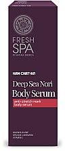 Profumi e cosmetici Siero contro le smagliature - Natura Siberica Fresh Spa Kam-Chat-Ka Deep Sea Nori Body Serum