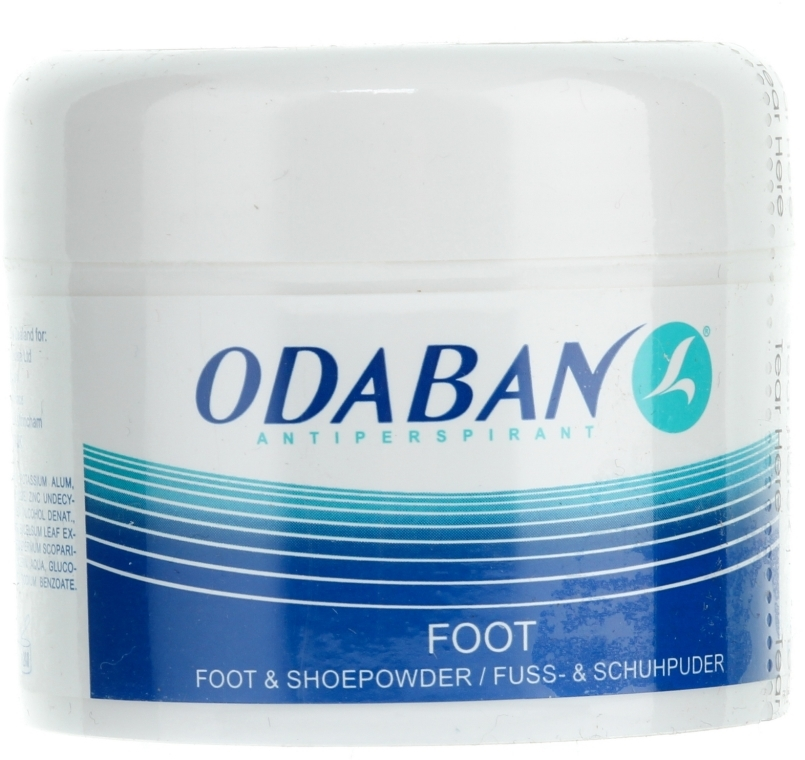 Polvere per piedi e scarpe - Odaban Foot and Shoe Powder