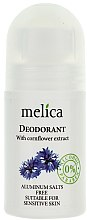 Profumi e cosmetici Deodorante estratto fiordaliso - Melica Organic With Camomile Extract Deodorant