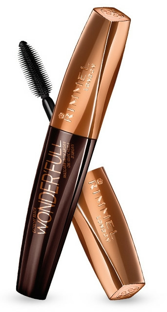 Mascara all'olio di argan - Rimmel WonderFull With Argan Oil Extreme Black Mascara