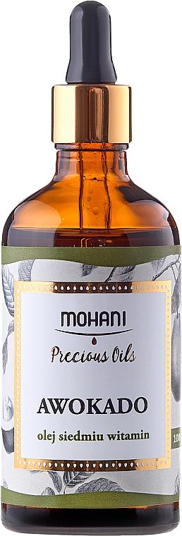 Olio naturale di avocado - Mohani Avocado Oil — foto N4