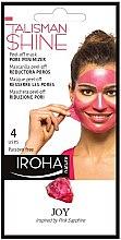 Profumi e cosmetici Maschera peeling viso - Iroha Nature Peel Off Pink Sapphire Pore Minimizer