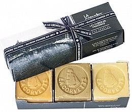 Profumi e cosmetici Set - La Corvette Provence Soap Gift Box (soap/3x100g)