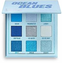 Profumi e cosmetici Palette ombretti - Makeup Obsession Ocean Blues Eyeshadow Palette