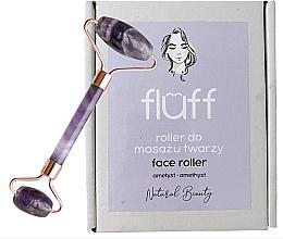"Profumi e cosmetici Massaggiatore viso ""Ametista"" - Fluff Face Roller Ametyst"