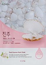 Profumi e cosmetici Maschera in tessuto all'estratto di perla - Esfolio Pearl Essence Mask Sheet