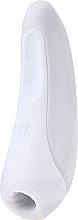 Profumi e cosmetici Stimolatore del clitoride, bianco - Satisfyer Curvy 1+
