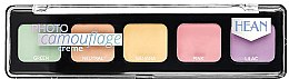 Profumi e cosmetici Palette concealer cremoso - Hean Photo Camouflage Cream Concealer Palette
