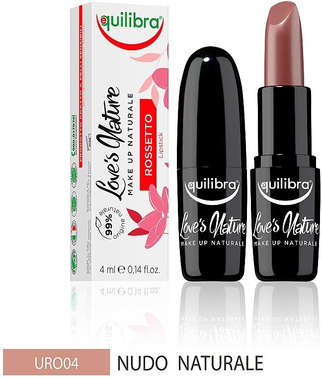 Rossetto - Equilibra Love's Nature Lipstick