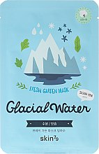 Profumi e cosmetici Maschera viso in tessuto - Skin79 Fresh Garden Mask Glacial Water