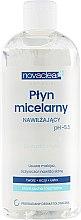 Profumi e cosmetici Fluido micellare per pelli secche e normali - Novaclear Moisturizing Micellar Water