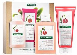 Profumi e cosmetici Set - Klorane Pomegranate (shm/200ml + cond/200ml)