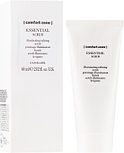 Profumi e cosmetici Scrub viso detergente illuminante - Comfort Zone Essential Scrub