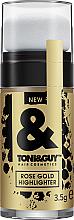 Profumi e cosmetici Illuminante per capelli - Toni&Guy Rose Gold Highlighter