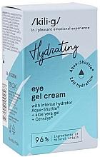 Profumi e cosmetici Crema-gel contorno occhi idratante intensa - Kili-g Hydrating Eye Gel Cream