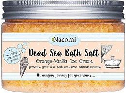 Profumi e cosmetici Sale naturale da bagno del Mar Morto con olio di arancia e vaniglia - Nacomi Dead Sea Bath Salt