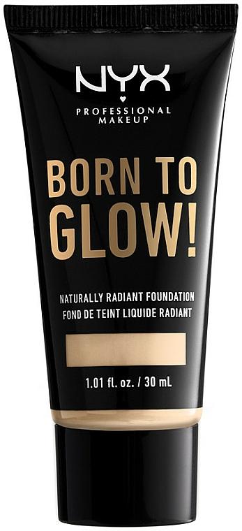 Fondotinta liquido - NYX Professional Makeup Born To Glow