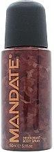 Profumi e cosmetici Eden Classic Mandate - Deodorante-spray