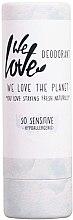 Profumi e cosmetici Deodorante solido per pelli sensibili - We Love The Planet So Sensitive Deodorant Stick