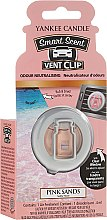Profumo auto - Yankee Candle Smart Scent Vent Clip Pink Sands — foto N1
