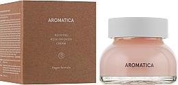 Profumi e cosmetici Crema viso rigenerante con estratto di rosa - Aromatica Reviving Rose Infusion Cream
