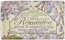 """Profumi e cosmetici Sapone """"Glicine e lillà"""" - Nesti Dante Romantica Tuscan Wisteria&Lilac Soap"""