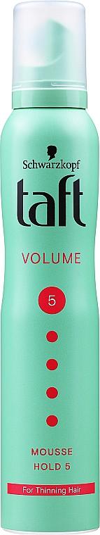 Schiuma per lo styling dei capelli - Schwarzkopf Taft Volume Mousse №5
