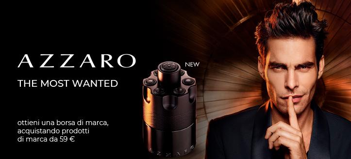 Ricevi in regalo una borsa di marca, acquistando prodotti Azzaro da 59 €