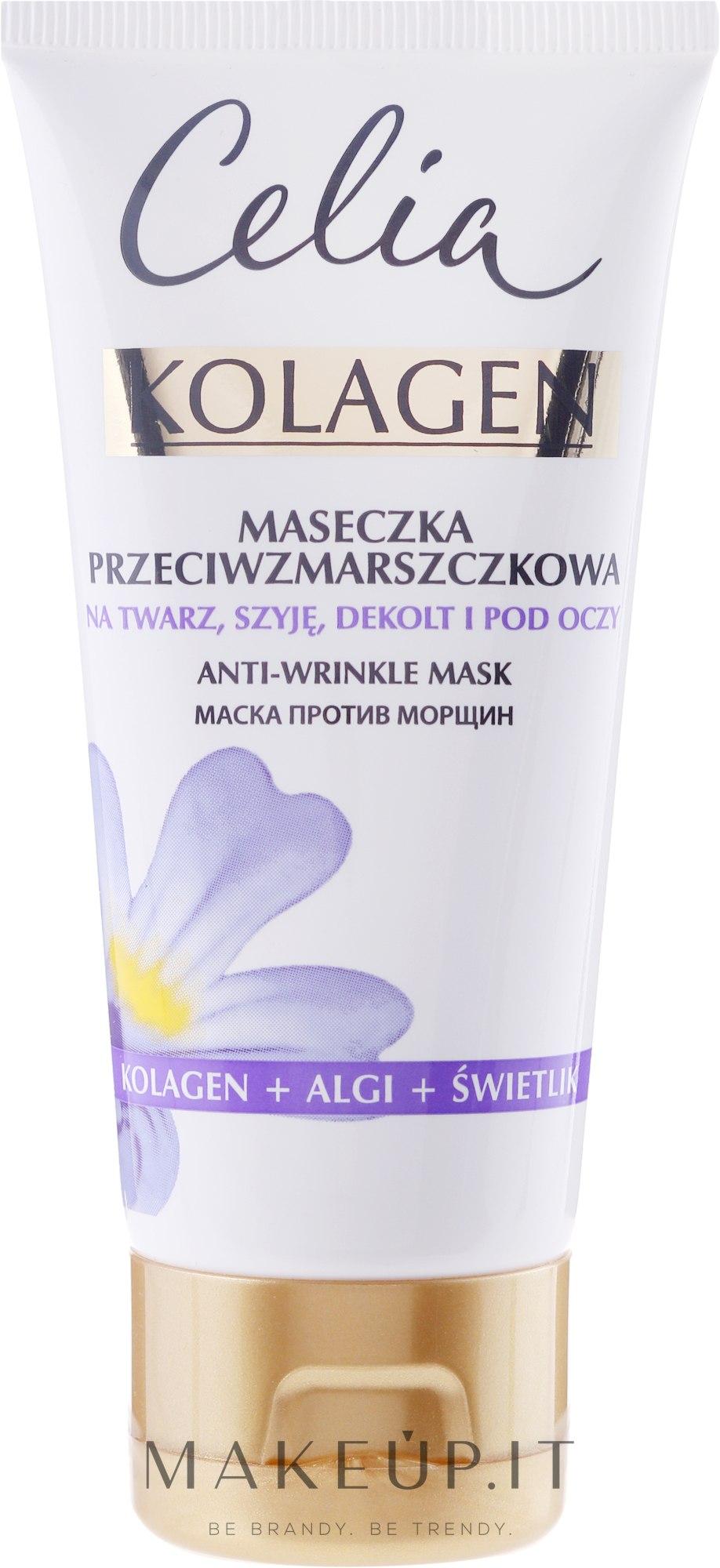 Maschera viso antirughe - Celia Collagen Mask — foto 60 ml