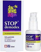 Profumi e cosmetici Gel per gli occhi - FitoBioTehnologia Stop Demodex