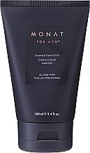 Profumi e cosmetici Scrub viso micro esfoliante - Monat For Men Essential Face Scrub