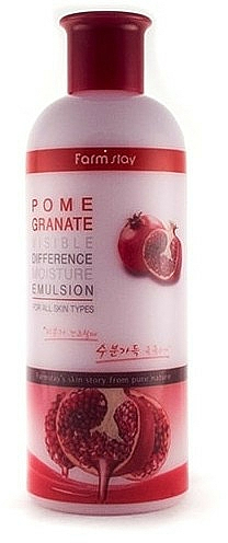 Emulsione illuminante con estratto di melograno - Farmstay Pomegranate Visible Difference Moisture Emulsion