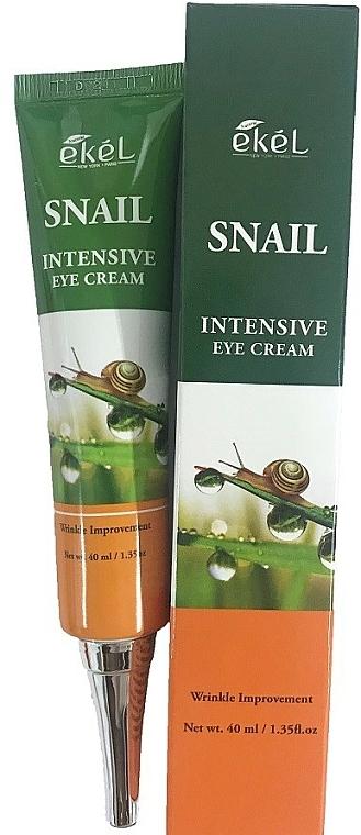 Crema contorno occhi alla bava di lumaca - Ekel Snail Intensive Eye Cream