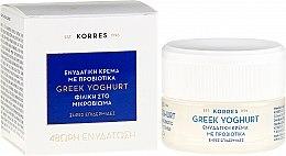Profumi e cosmetici Crema intensamente idratante per pelli secche con yogurt greco - Korres Greek Yoghurt Probiotic Moisturiser Intense
