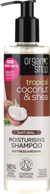 "Shampoo ""Cocco e Burro di Karitè"" - Organic Shop Coconut Shea Moisturising Shampoo"