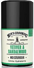 Profumi e cosmetici Crema viso idratante per uomo - Scottish Fine Soaps Vetiver & Sandalwood Moisturiser