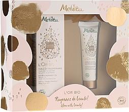 Profumi e cosmetici Set - Melvita L'Or Bio (oil/50ml + h/cr/30ml)