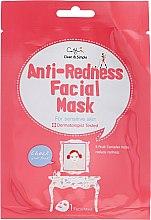 Profumi e cosmetici Maschera in tessuto per pelli sensibili - Cettua Anti-Redness Facial Mask